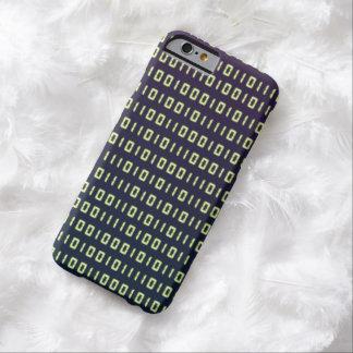 Casos del código binario iPhone6 Funda Barely There iPhone 6