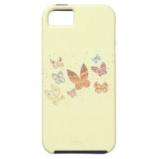 Casos del diseño iphone5 de la mariposa iPhone 5 carcasa
