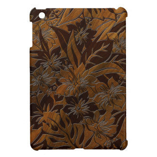 Casos del falso iPad hawaiano de madera de la
