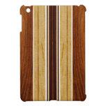 Casos del falso Koa iPad de madera de la tabla haw iPad Mini Fundas