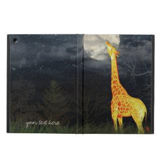 Casos del iPad 2/3/4/Mini/Air de la jirafa y de la