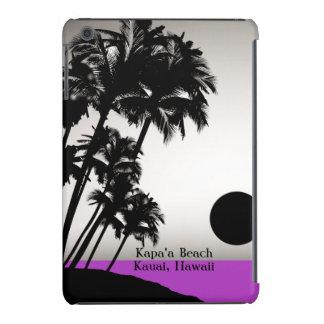 Casos del iPad adaptable hawaiano de la puesta del Fundas De iPad Mini Retina