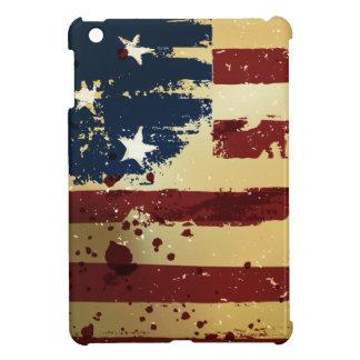 Casos del iPad de la bandera americana del Grunge  iPad Mini Cárcasas