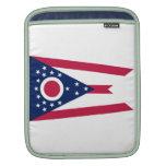 Casos del ipad de la bandera del estado de Ohio Mangas De iPad