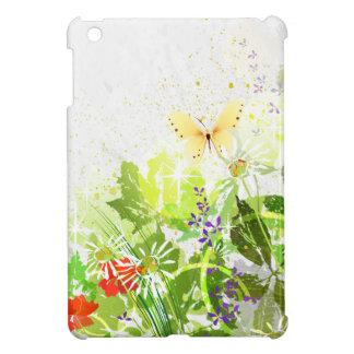 Casos del iPad de la decoración 30 de la flor mini