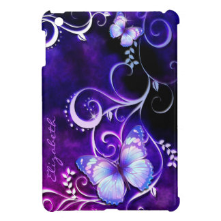 Casos del iPad del arte 3 de la mariposa mini