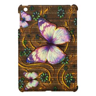 Casos del iPad del arte 6 de la mariposa mini