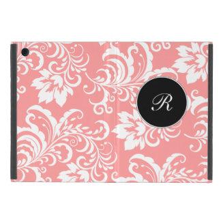 Casos del iPad del monograma del damasco mini iPad Mini Carcasa