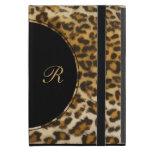 Casos del iPad del monograma del leopardo mini iPad Mini Protector