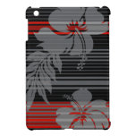 Casos del iPad hawaiano de la raya del hibisco de  iPad Mini Protector