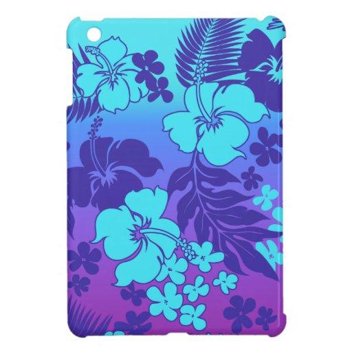 Casos del iPad hawaiano del hibisco de la mezcla
