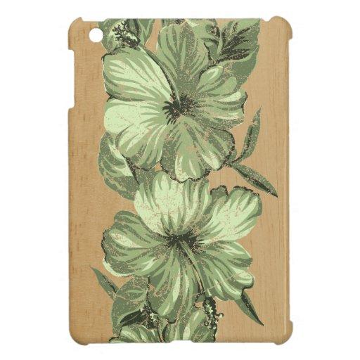 Casos del iPad hawaiano del hibisco de Lanai mini
