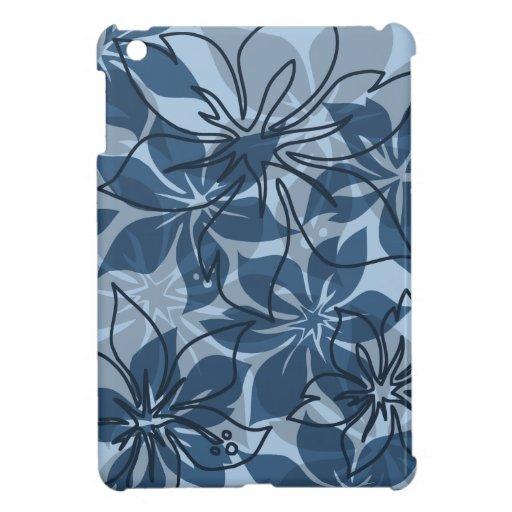 Casos del iPad hawaiano del hibisco de Olowalu min iPad Mini Cárcasas