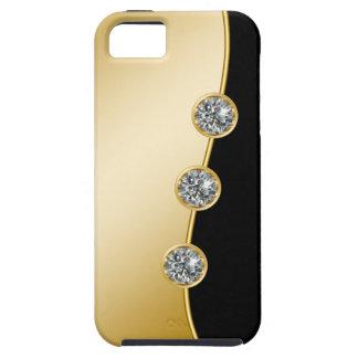 Casos del iPhone 5s del oro iPhone 5 Carcasa