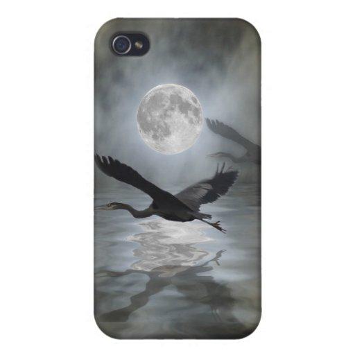 Casos del iPhone de la fantasía de la luna de la g iPhone 4/4S Carcasa