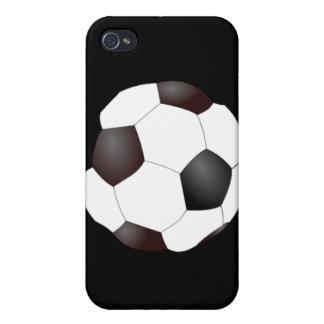 Casos del iPhone del balón de fútbol iPhone 4 Protectores