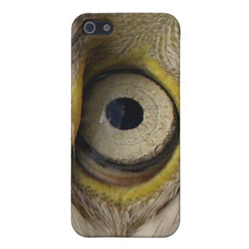 Casos del iPhone del ojo de Eagle iPhone 5 Carcasas