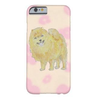 Casos del iphone del perro de Pomeranian Funda De iPhone 6 Barely There