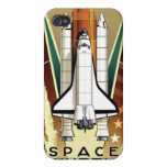 Casos del iphone del transbordador espacial iPhone 4/4S carcasa