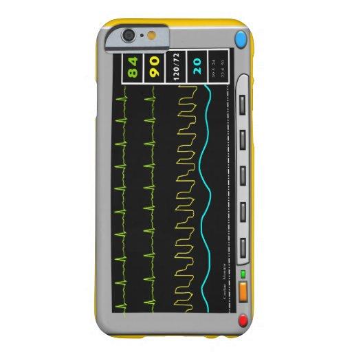 Casos del iPhone y de la electrónica del monitor Funda De iPhone 6 Barely There