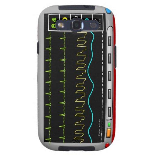 Casos del iPhone y de la electrónica del monitor Funda Para Samsung Galaxy SIII