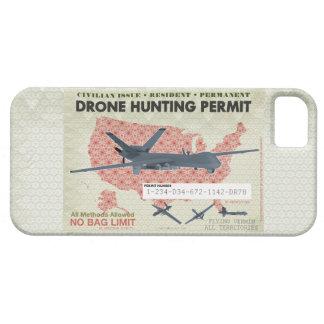 Casos del permiso de la caza del abejón iPhone 5 funda