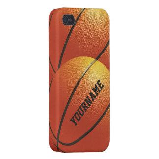 Casos del personalizado del baloncesto iPhone 4/4S carcasa