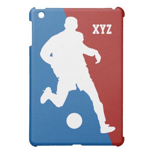 Casos del personalizado del jugador de fútbol