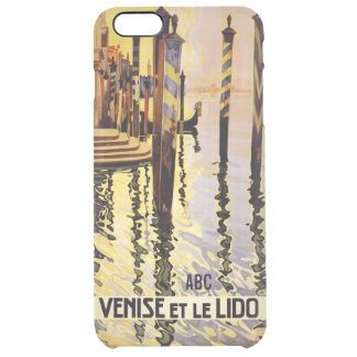 Casos del personalizado del viaje del vintage de funda clearly™ deflector para iPhone 6 plus de unc