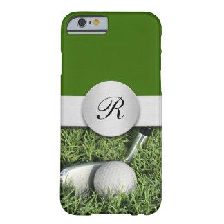 Casos del tema del golf de los hombres funda de iPhone 6 barely there