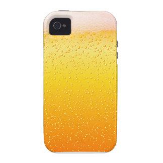 Casos divertidos del iphone de la cerveza iPhone 4/4S fundas