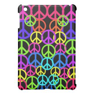Casos electrónicos retros de los símbolos de paz