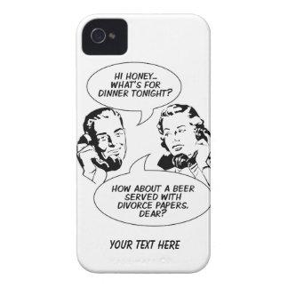 Casos feministas retros del iPhone del humor iPhone 4 Coberturas