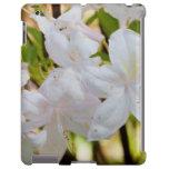 """Casos florales del iPad - """"wildflowers blancos bon"""