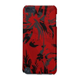 Casos florales del tacto de iPod del hibisco de