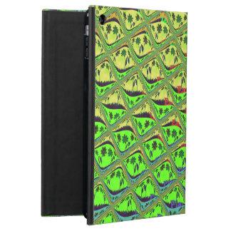 Casos florales femeninos del iPad de las tejas de