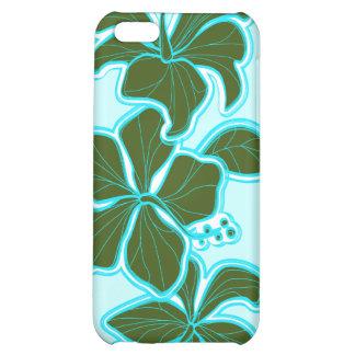 Casos florales hawaianos del iPhone 5C del hibisco