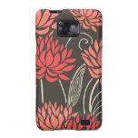 Casos florales tropicales magníficos de Smartphone Samsung Galaxy SII Carcasa