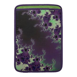 Casos frescos del arte del fractal del extracto de funda macbook air