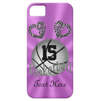 Casos frescos del baloncesto del iPhone 5S para iPhone 5 Protector