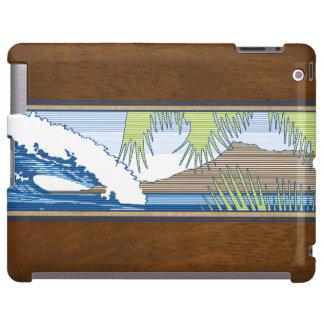 Casos hawaianos del iPad de la muestra de la Funda Para iPad