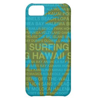 Casos hawaianos del iPhone 5C de las palmeras de H