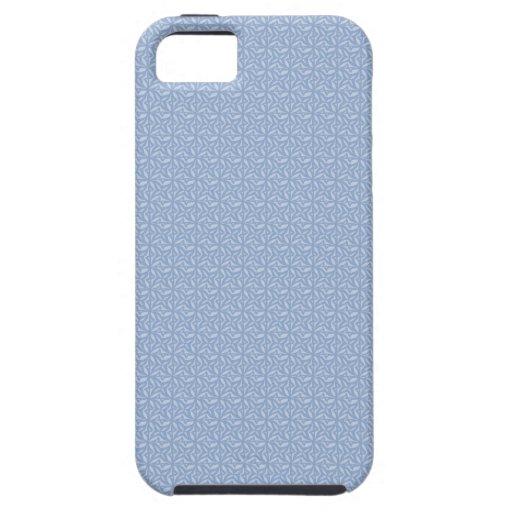 Casos inconsútiles azules claros del diseño del mo iPhone 5 Case-Mate carcasas