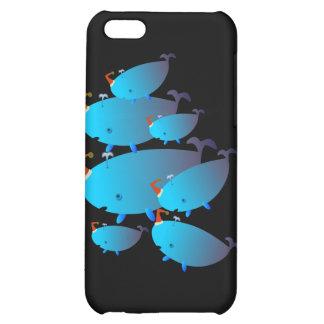 Casos lindos 001 de Iphone Familia de la ballena