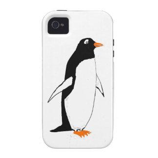 Casos lindos de Penguin.iphone Vibe iPhone 4 Fundas