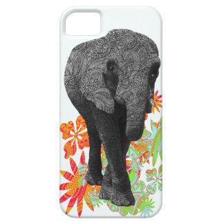 Casos lindos del elefante iPhone5 del Hippie iPhone 5 Case-Mate Coberturas