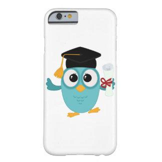 Casos lindos del iphone del búho graduado funda barely there iPhone 6