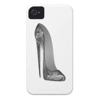 Casos maravillosos del arte del zapato del iPhone 4 Case-Mate fundas