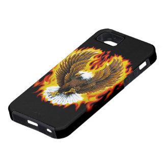 Casos patrióticos ardientes de Iphone del iPhone 5 Funda