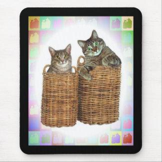 Casos perdidos del gatito alfombrillas de raton